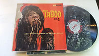 Arthur Lyman SR 822 TABOO Vol. 2 Stereo 1960 EXOTICA Shrunken Head lp lounge !!