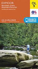 OL9 Exmoor Ordnance Survey Explorer Map OL 9