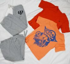 Baby Gap Short Sleeve T-Shirts + Sweatpants Boys Size 4 Years Outfit Lot of 4