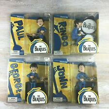 THE BEATLES McFARLANE SATURDAY MORNING CARTOON FIGURES SET OF 4!