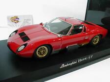 "Kyosho Werbemodell - Lamborghini Miura SV Baujahr 1971 in "" rot "" 1:18 ab 1,- €"