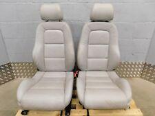 AUDI TT MK1 sedili anteriori-Grigio Chiaro in Pelle riscaldati.