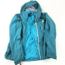 Adidas 3-in-1 Gore-Tex Insulated Jacket Coat Teal Green Womens Size Large (Flaw)