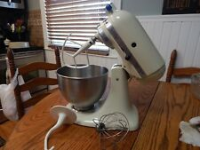 VINTAGE KITCHENAID By HOBART K45SS Countertop Mixer/Tilt Head with Accessories