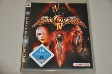 Playstation 3 Spiel - Soulcalibur IV - Deutsch Komplett PS3