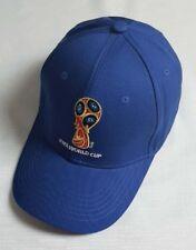 New World Cup Soccer Russia Cup Golf Baseball Adjustable Football Cap Hats Blue
