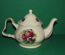 Teapot Baun Bros. Formalities Fruit Design