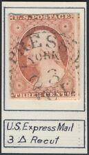 #11 F-VF USED WITH EXPRESS MAIL CANCEL BR536