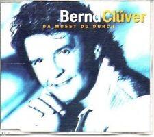 (AK164) Bernd Cluver, Da Musst du Durch - 1999 CD