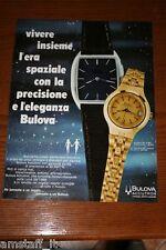 BA18=1972=BULOVA ACCUTRON OROLOGIO WATCH=PUBBLICITA'=ADVERTISING=WERBUNG=