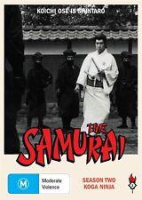 The Samurai - Koga Ninja : Season 2 (DVD, 2010, 3-Disc Set)