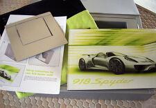 PORSCHE OFFICIAL 918 SPYDER 911 TURBO S BOXED BROCHURE SET 2011 USA EDITION