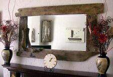 Large Overmantle Rustic Driftwood Mirror 150 75