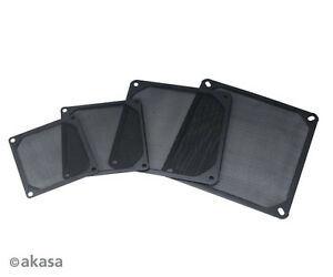 Akasa GRM140-AL01-BK Aluminium Fan Filter