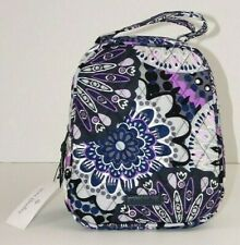 NWT Vera Bradley Lunch Bunch Mimosa Medallion Quilted Cotton School Sack Box Bag