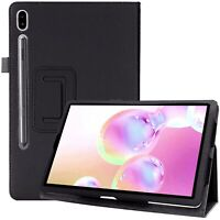 For Samsung Galaxy Tab S6 Case Leather Folio Stand Tablet Cover T860 / T865