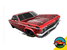 Hot Wheels Cars - '65 Chevy Impala Red