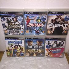Ps3 Games Move Motion Controler Time Crisis TheFight Racket Sports Champion RUSE