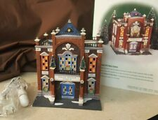 Dept 56 Christmas In The City Lighted 1998 Precinct 25 Police Station 58941