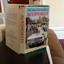 Observers book of automobiles 1967 USA edition $1.50