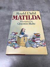 Matilda By Roald Dahl - Hardback Book & Dust Jacket