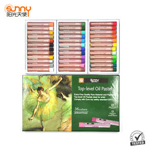 Sunny Oil Pastels 36 colourful Crayons