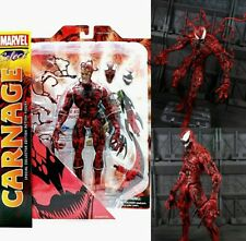 MARVEL SELECT CARNAGE ACTION FIGURE DIAMOND SELECT IN STOCK! HOT FIGURE!