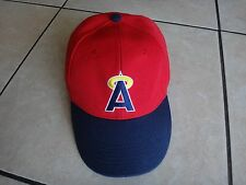 MLB Team ANAHEIM ANGELS Baseball Red Ball Hat By SIXTH MAN Promotions