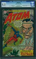 ATOM #1 CGC 4.5 1ST SILVER AGE ATOM IN OWN TITLE CGC #0274014002