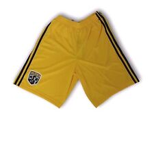 MLS Columbus Crew Yellow Color Youth Adidas Shorts Size X-Large