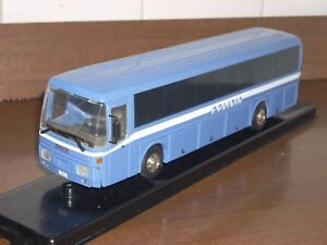 POLIZIA POLICE autobus Iveco 370 base Old cars scala 1/43