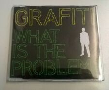 Grafiti What Is The Problem? CD Single (Mike Skinner The Streets) Bug Zongamin