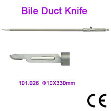 New Bile Duct Knife ø10x330mm Laparoscopy Wholesale CE Approved Surgery