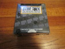 Star Trek The Original Series Archives and Inscriptions Factory Sealed BOX - TOS