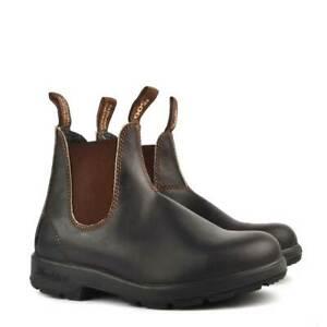 Blundstone 500 Boots Stout Brown Premium