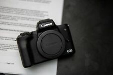 Canon EOS M50 24.1MP Mirrorless Digital Camera with 15-45mm STM Lens - Black