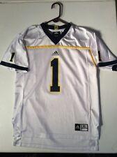 Michigan Wolverines Adidas Jersey #4 White Youth Xl(18-20) Adidas