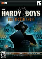 PC CD-ROM The Hardy Boys The Hidden Theft Game & Special Guest Star Nancy Drew!!