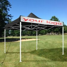 EZ Pop Up Canopy Commercial Tent Sun Shade Shelter w/Carry Bag 10' x 10'