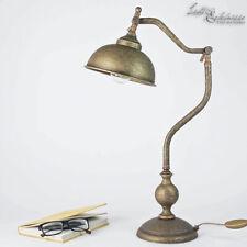 Tischlampe Goldfarben Guter Zustand Attraktiv Und Langlebig Leuchten & Leuchtmittel Büromöbel