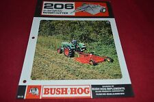 Brush Hog 206 Rotary Cutter Dealer's Brochure YABE10 ver2