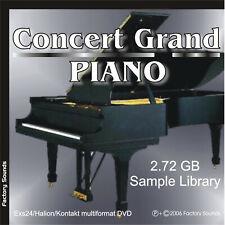 Concert Grand Piano Exs24 • Kontakt • Wav Sample Cd • Steinway Concert Grand D