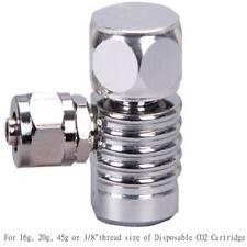 "CO2 pierce Regulator ONLY FOR 16g 20g 45g 3/8""disposable cartridge cylinder tank"