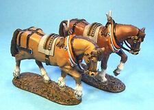JOHN JENKINS MONONGAHELA BAL03 BRITISH ARTILLERY HORSES (2 NO.) MIB