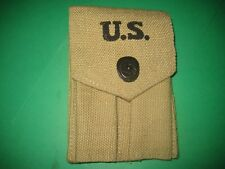 US MILITARY STYLE M1943 TWIN MAG POUCH FOR THE M1911A1 PISTOL MEDCORP SADDLE CO