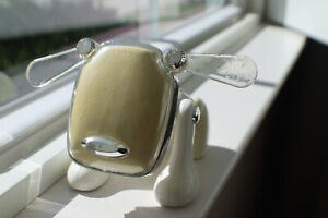 Hasbro Sega 2005 Toy I-Dog White Electronic Music Robot Speaker No Cord