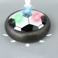 LED Kids Air Power Soccer Hover Football Indoor Outdoor Disc Toy Gift Game Ball