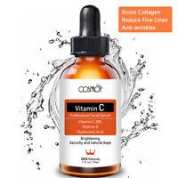 Pure Vitamin C 20% Hyaluronic Acid 70% Anti Wrinkle Acne Facial Serum