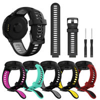 Soft Silicone Strap Replacements Watch Band For Garmin Forerunner 735XT Watch UK