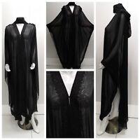 Mujeres Frente Abierto Abaya.dress.burka Saudi Abaya Japonés Gasa Nuevo Novedad